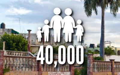 H4H Builders Impacted 40,000 Families in 2015