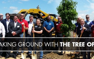 Breaking Ground With The Tree Of Life