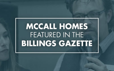 McCall Homes 2nd Home for Hope Announced In The Billings Gazette