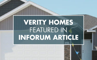 Verity Homes Ribbon Cutting Featured in InForum Article