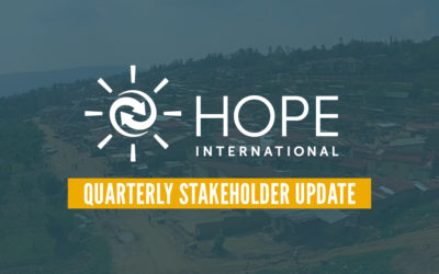 HOPE International Quarterly Update