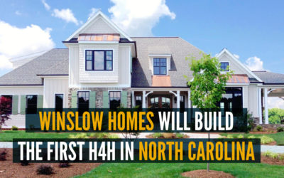 Winslow Homes Will Build The Very First H4H in North Carolina