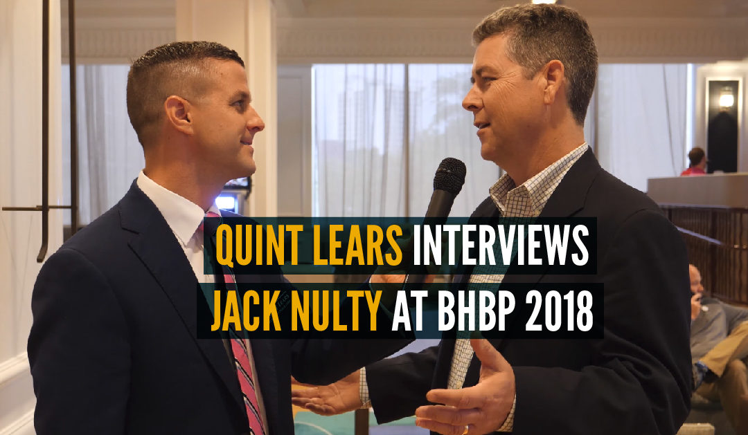Quint Lears Interviews Jack Nulty at BHBP 2018