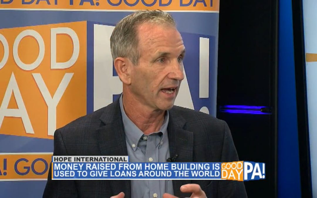 Watch Jeff Rutt and Homes for Hope on Good Day PA