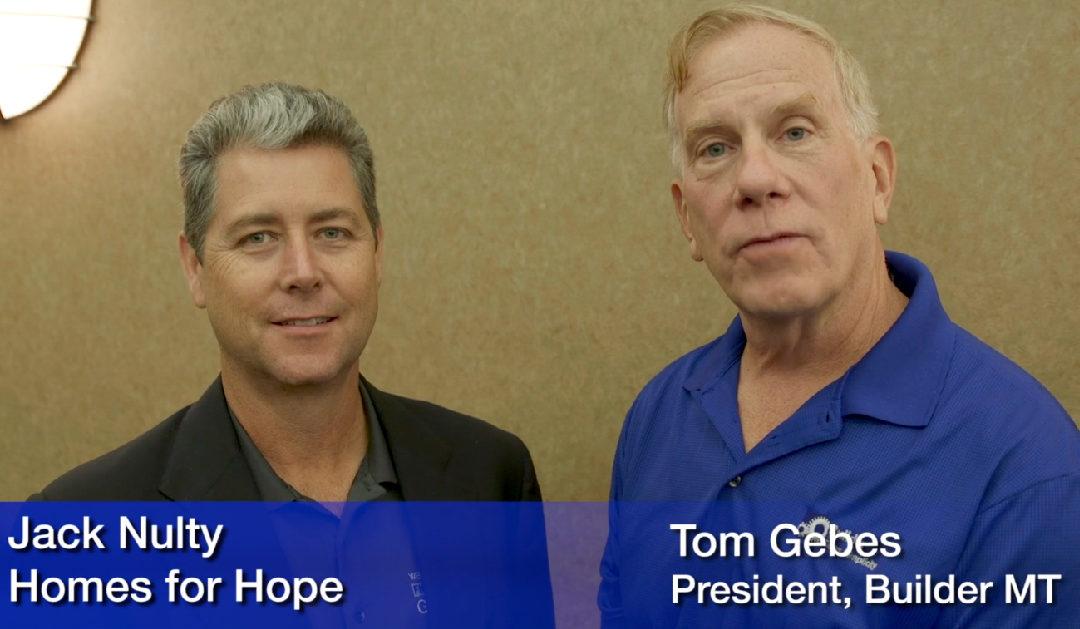 BuilderMT & Homes for Hope